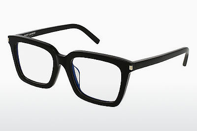Óculos de design Saint Laurent SL 167/F 001 - Preto