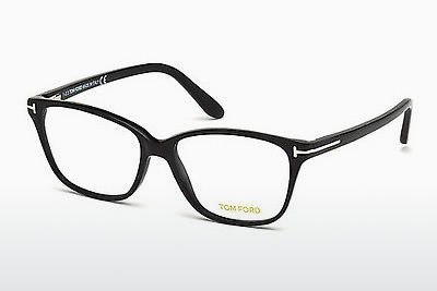 Óculos de design Tom Ford FT4293 001 - Preto, Shiny