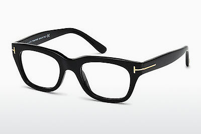 Óculos de design Tom Ford FT5178 001 - Preto, Shiny