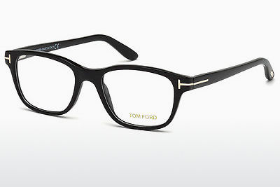 Óculos de design Tom Ford FT5196 001 - Preto, Shiny