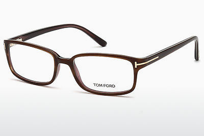 Óculos de design Tom Ford FT5209 047 - Castanho, Bright