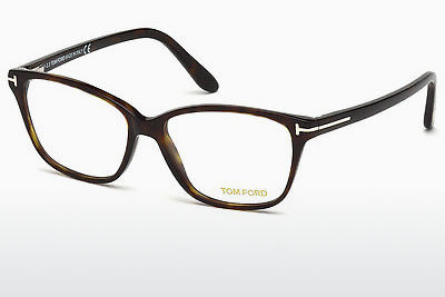 Óculos de design Tom Ford FT5293 052 - Castanho, Havana