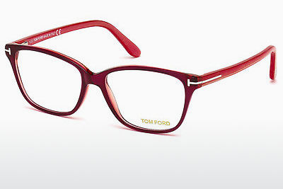 Óculos de design Tom Ford FT5293 077 - Rosa, Fuchsia