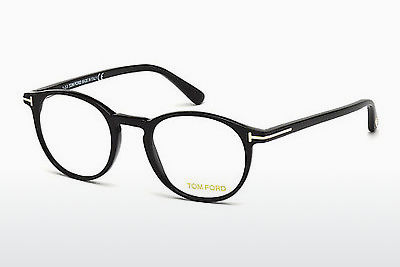 Óculos de design Tom Ford FT5294 001 - Preto, Shiny