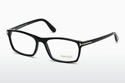 Óculos de design Tom Ford FT5295 002 - Preto, Matt