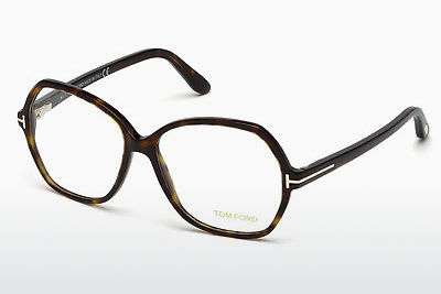 Óculos de design Tom Ford FT5300 052 - Castanho, Havana