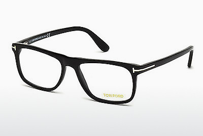 Óculos de design Tom Ford FT5303 002 - Preto, Matt