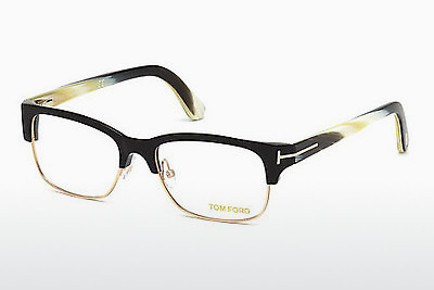 Óculos de design Tom Ford FT5307 001 - Preto, Shiny