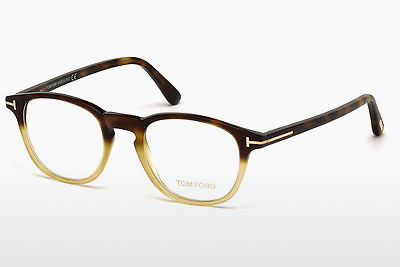 Óculos de design Tom Ford FT5389 053 - Havanna, Yellow, Blond, Brown
