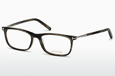 Óculos de design Tom Ford FT5398 061 - Verde, Horn
