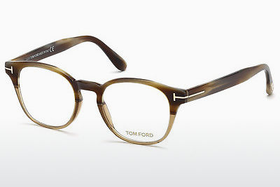 Óculos de design Tom Ford FT5400 65A - Corno, Horn, Brown