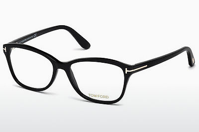 Óculos de design Tom Ford FT5404 001 - Preto, Shiny