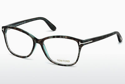 Óculos de design Tom Ford FT5404 56A - Havanna