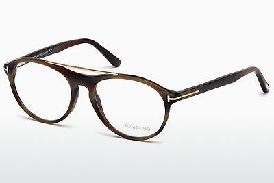 Óculos de design Tom Ford FT5411 062 - Castanho, Horn, Ivory