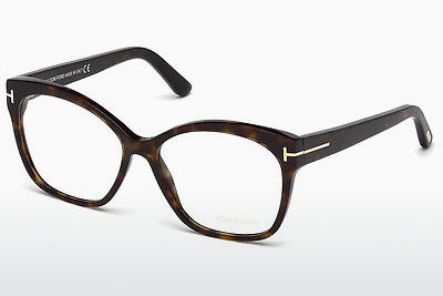 Óculos de design Tom Ford FT5435 052 - Castanho, Dark, Havana