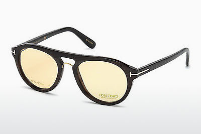 Óculos de design Tom Ford FT5438-P 64E - Corno, Horn, Brown