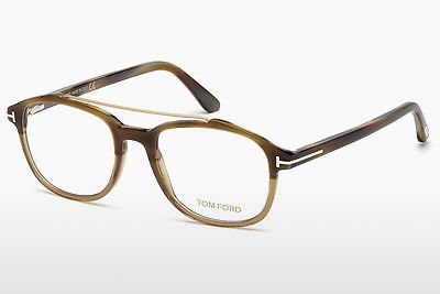 Óculos de design Tom Ford FT5454 062 - Castanho, Horn, Ivory