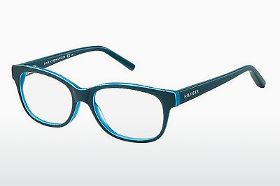 Óculos de design Tommy Hilfiger TH 1017 UCT - Verde, Teal