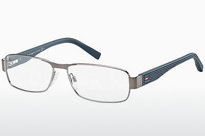 Óculos de design Tommy Hilfiger TH 1163 V4V - Prateado, Ruthenium