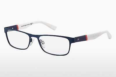 Óculos de design Tommy Hilfiger TH 1284 FO4 - Azul