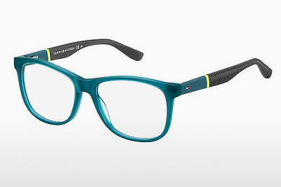 Óculos de design Tommy Hilfiger TH 1406 T94 - Verde, Teal