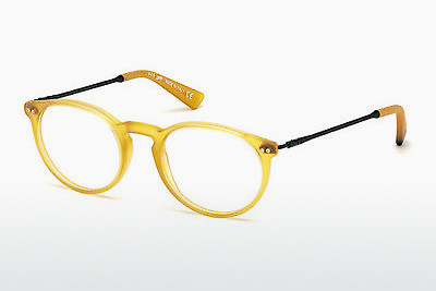 Óculos de design Web Eyewear WE5176 039 - Amarelo, Shiny