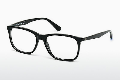 Óculos de design Web Eyewear WE5180 001 - Preto, Shiny