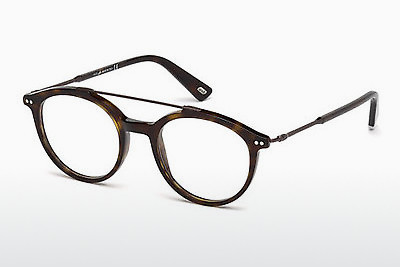 Óculos de design Web Eyewear WE5204 052 - Castanho, Dark, Havana