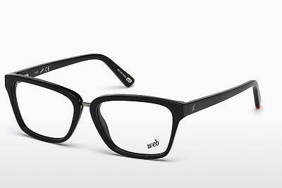 Óculos de design Web Eyewear WE5229 001 - Preto, Shiny