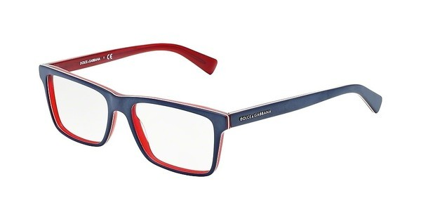 Dolce & Gabbana DG3207 1872 TOP BLUE ON MATTE RED