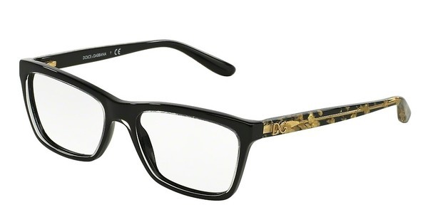 Dolce & Gabbana DG3220 2917 CRYSTAL ON BLACK