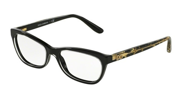 Dolce & Gabbana DG3221 2917 CRYSTAL ON BLACK