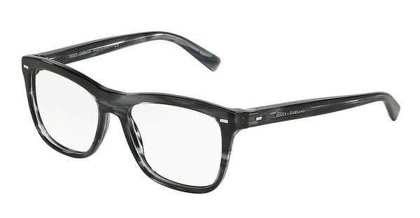 Dolce & Gabbana DG3226 2924 STRIPED ANTHRACITE