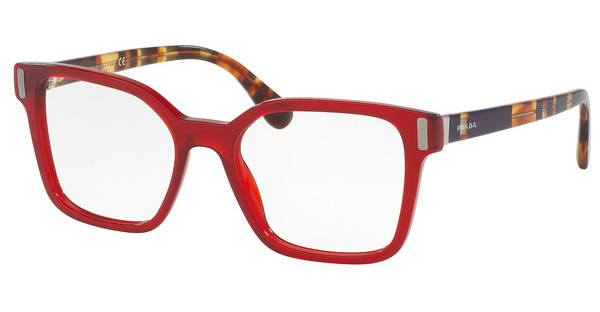 Prada   PR 05TV ACB1O1 TRANSPARENT RED