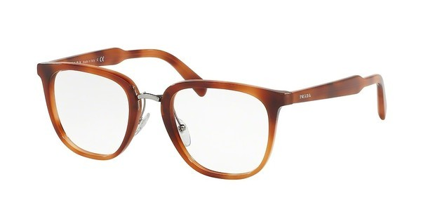 Prada PR 10TV USE1O1 STRIPED LIGHT BROWN