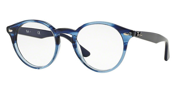 Ray-Ban RX2180V 5572 GRADIENT STRIPED BLUE