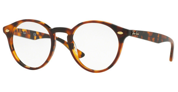 Ray-Ban RX2180V 5675 TOP HAVANA BROWN ON HAVANA YEL