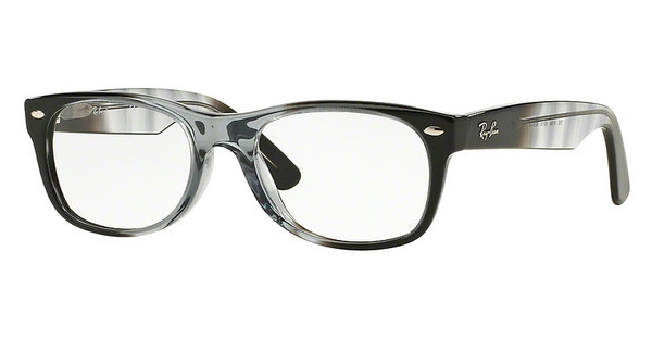Ray-Ban RX5184 5515 GRADIENT GREY ON BLACK