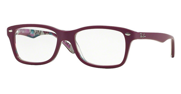 Ray-Ban RX5228 5408 TOP MAT VIOLET ON TEX CAMUFLAG