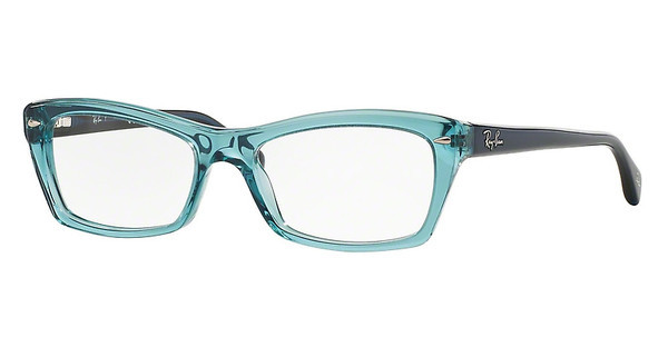 Ray-Ban RX5255 5235 SHINY TRASPARENT BLUE