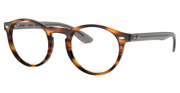 Ray-Ban RX5283 5607 STRIPED HAVANA