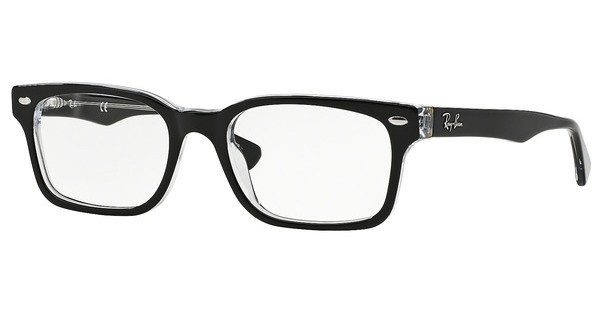Ray-Ban RX5286 2034 TOP BLACK ON TRANSPARENT