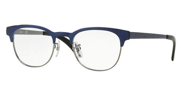 Ray-Ban RX6317 2863 TOP BRUSHED BLUE ON GUNMETAL