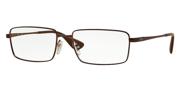 Ray-Ban RX6337M 2758 MATTE BROWN