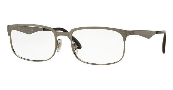 Ray-Ban RX6361 2553 BRUSHED GUNMETAL
