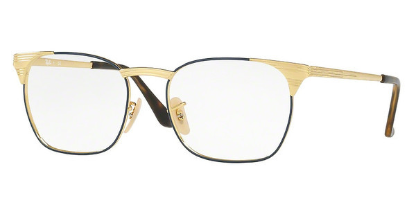 Ray-Ban RX6386 2903 GOLD TOP BLUE