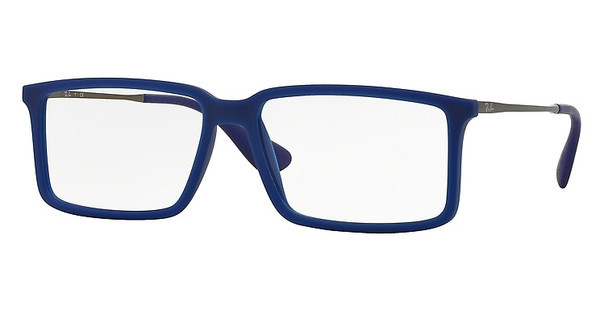 Ray-Ban RX7043 5467 RUBBER DEMI GLOSS BLUE