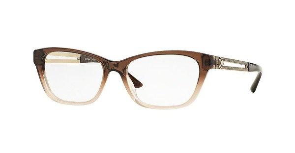 Versace VE3220 5165 BROWN/LT BROWN TRANSP