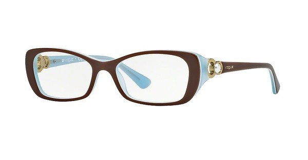 Vogue VO2808H 2011 TOP LIGHT BROWN/OPAL AZURE