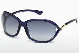 Óculos de marca Tom Ford Jennifer (FT0008 90W) - Azul